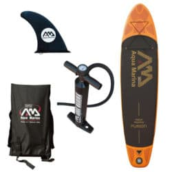 "Aqua Marina Fusion 10'10"" Inflatable Paddle Board Review"