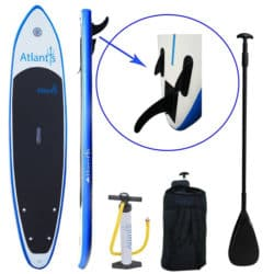 "Atlantis Paddle Boards® 10'6"" Inflatable SUP Review"