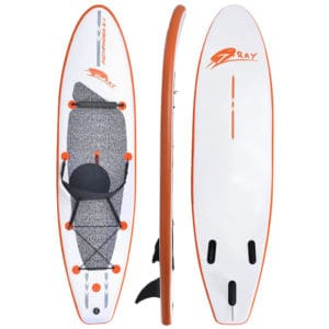 Blue Wave Sports 10' Stingray Inflatable Stand Up Paddleboard Review