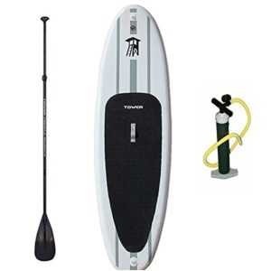 Tower Paddle Board Review – Adventurer Inflatable 9'10""