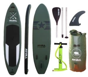 Atoll 11'0″ Foot Inflatable Stand up Paddle Board