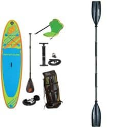 Cheap inflatable standup paddleboard
