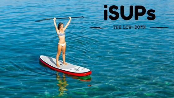 Inflatable standup paddleboard iSUP Summer Paddle