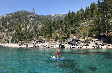 Where to paddle board in Lake Tahoe